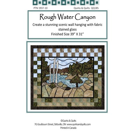 Quilt Wall Hanging - Rough Water Canyon Wall Hanging Quilt Pattern