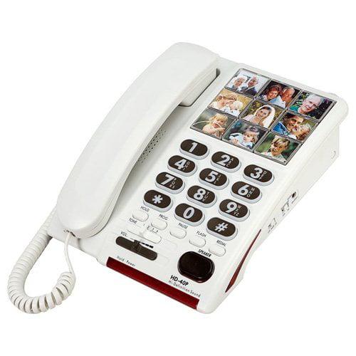 Serene Innovations Hd-40p Standard Phone - Corded - 1 X Phone Line - Speakerphone - Yes (si-hd-40p)