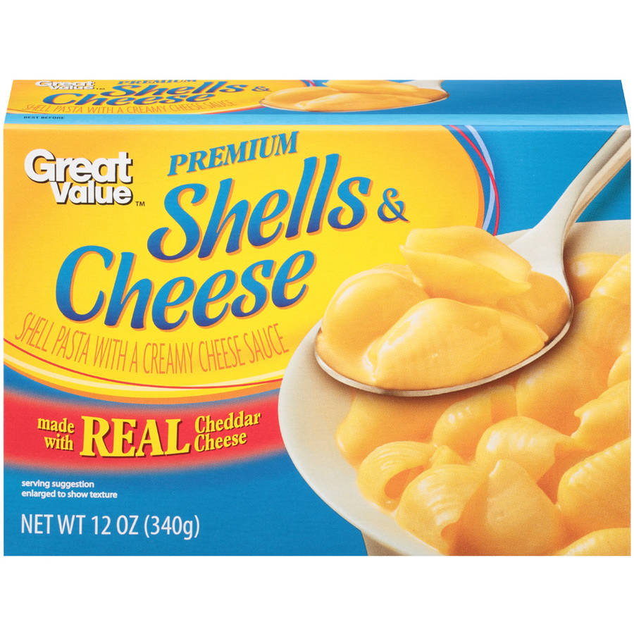 Great Value Premium Shells & Cheese, 12 oz