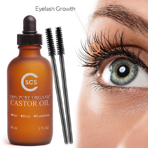 Pure Castor Oil For Eyelashes Walmart