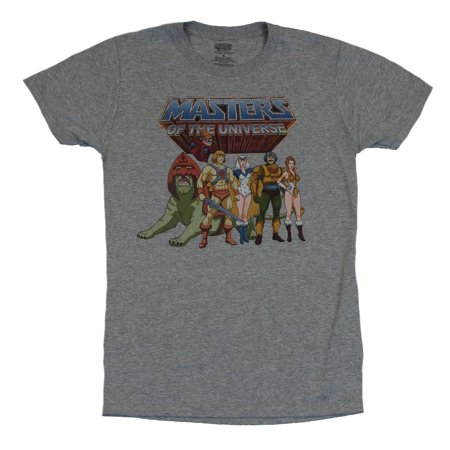 Masters of the Universe Mens T-Shirt - Distressed Good Guy Team Image