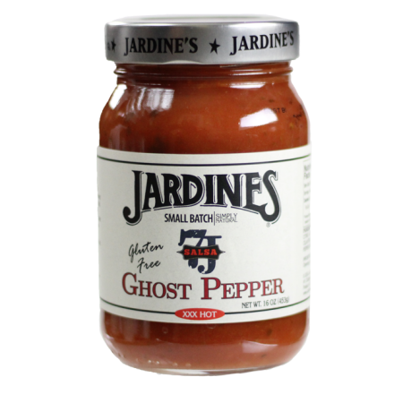 Jardine's Gluten Free Ghost Pepper Hot Salsa, 16 oz,