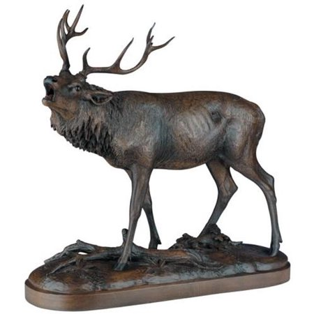 Sculpture Statue MOUNTAIN Rustic Calling Elk Large Resin New Lifelike Det (Elk Sculpture)