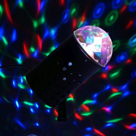 Rotating LED Mini Disco Ball Stage Spot Light Christmas - Led Disco Ball