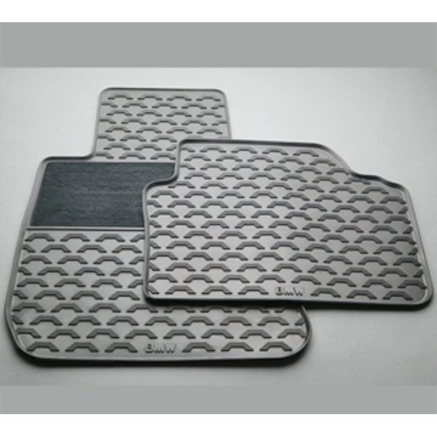 Genuine Oe Bmw Rubber Floor Mats With Carpeted Heel Pad 51 47 2