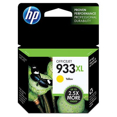 HP 933XL High Yield Yellow Original Ink Cartridge (Hp 933xl Ink Cartridges)