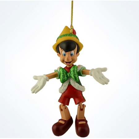 - Disney Parks Pinocchio Marionette Holiday Christmas Ornament New with Tags