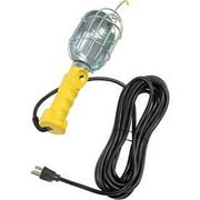 Bayco Pro Series Trouble Light with Metal Guard, 25' Cord #SL-425