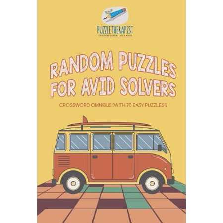 Random Puzzles for Avid Solvers Crossword Omnibus (with 70 Easy Puzzles!) - Halloween Crossword Solver