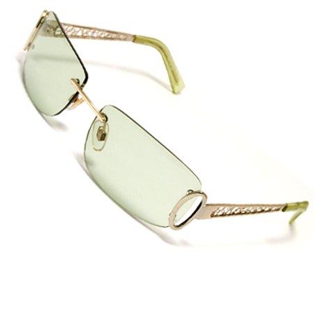 Fashionable Clear Cyan lens Sports Eyewear for Ladies