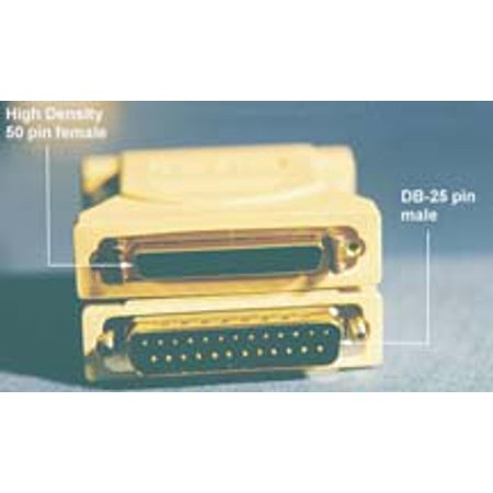 Db25 Male Adapter (IEC M372052 SCSI Adapter DB25 Male to DM50 Female)