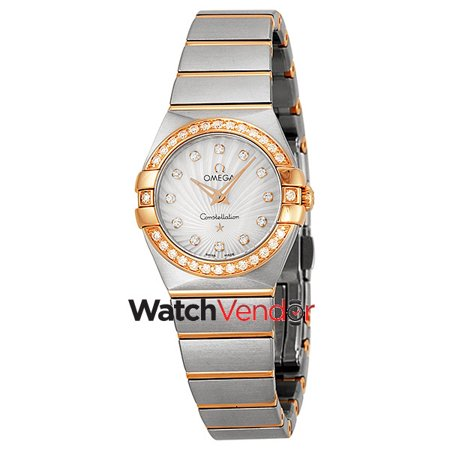 Omega Constellation Mother of Pearl Dial Steel Ladies Watch 123.25.24.60.55.002 - image 3 of 3