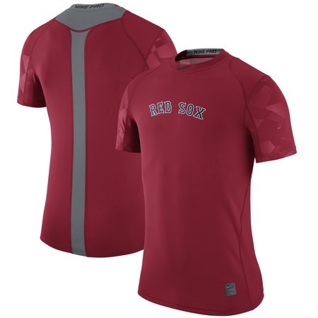 Nike Rod - Boston Red Sox Nike Pro Cool Performance T-Shirt - Red