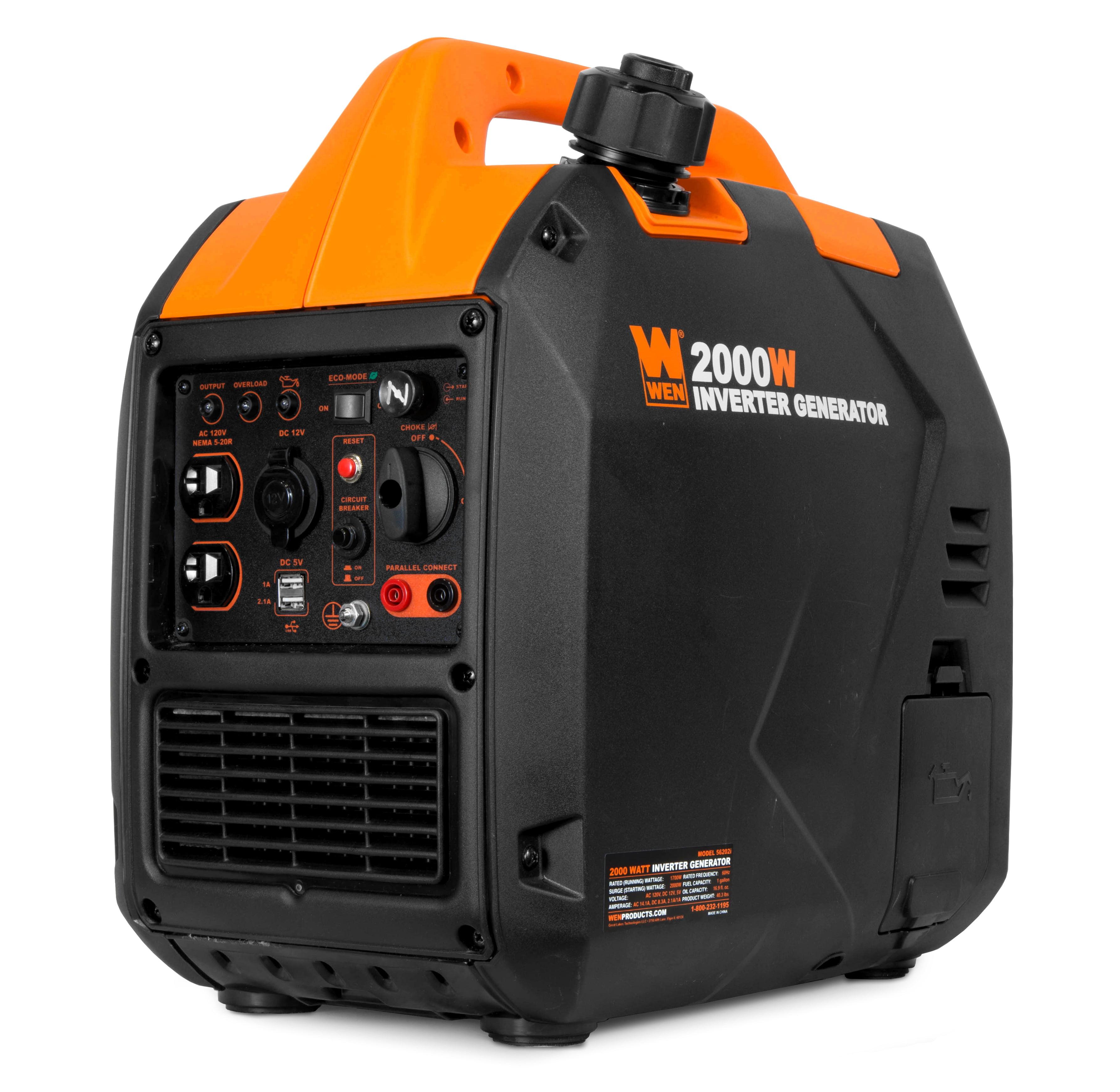 WEN Super Quiet 2000-Watt Portable Inverter Generator, CARB Compliant