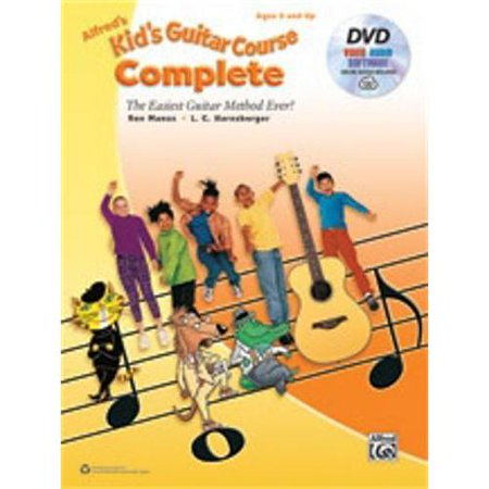 Alfred Alfreds Kids Guitar Course Complete Book  Dvd   Online Audio  Video   Software
