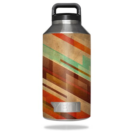 MightySkins Protective Vinyl Skin Decal for YETI Rambler Bottle 18 oz wrap cover sticker skins Abstract