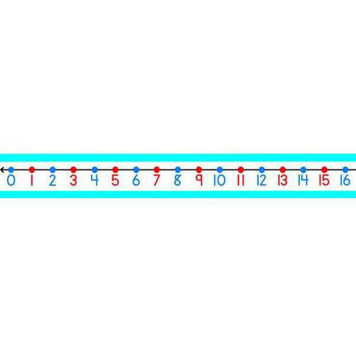 Carson-Dellosa Student Number Line, Pack of 30