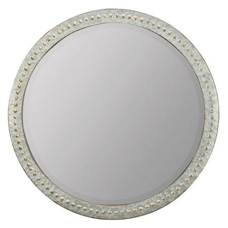 Mini Cooper Mirror Cover (Cooper Classics Brier Wall Mirror - 34 diam. in. )