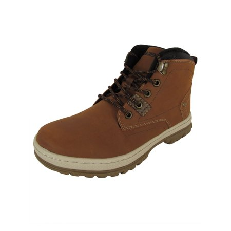 Highland Creek Mens Fleece Lined Lace Up Boot Shoes