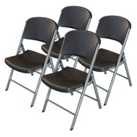 Lifetime Products Classic Commercial Folding Chair - 4 Pack, 80407
