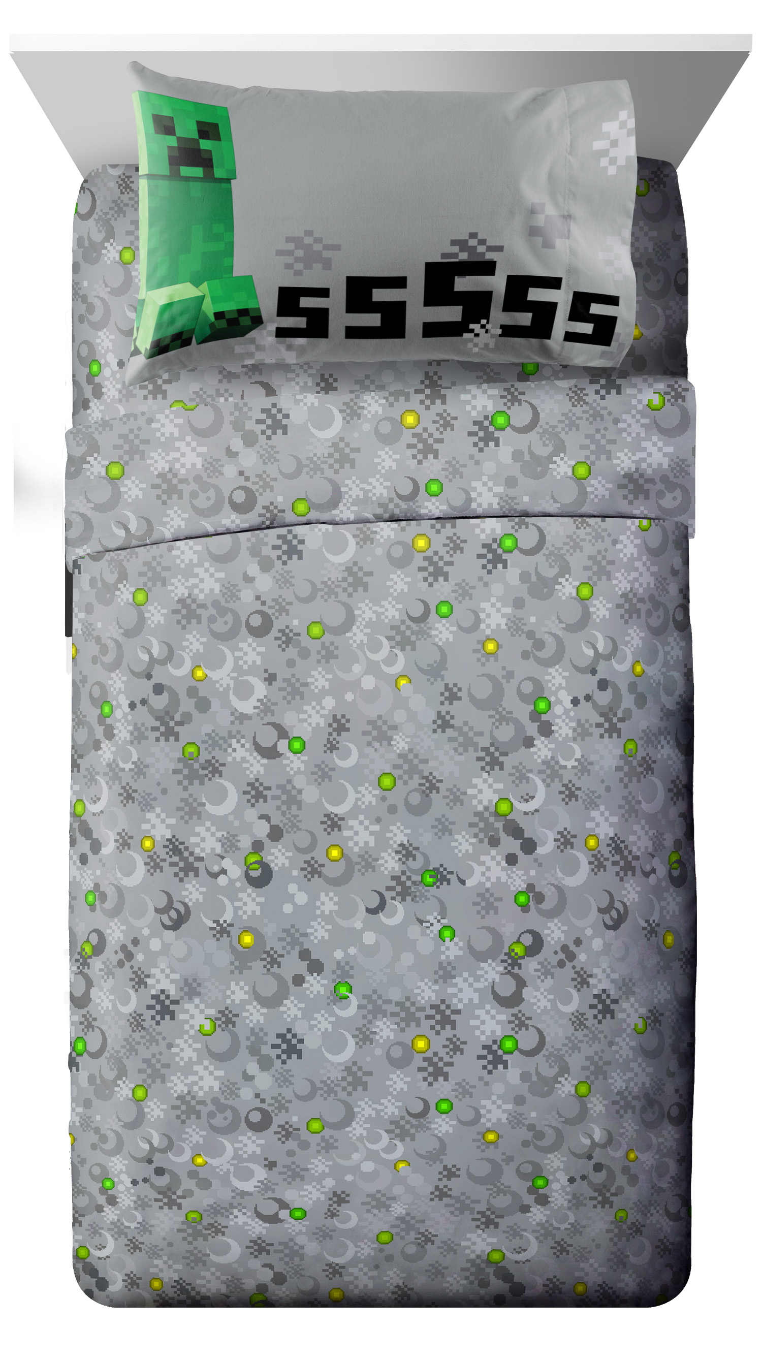 Minecraft Twin SHeet Set, Kid's Bedding by Jay Franco