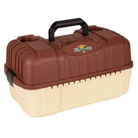 Flambeau Outdoors Hip Roof Tackle Box, 7 trays and bottom bulk storage