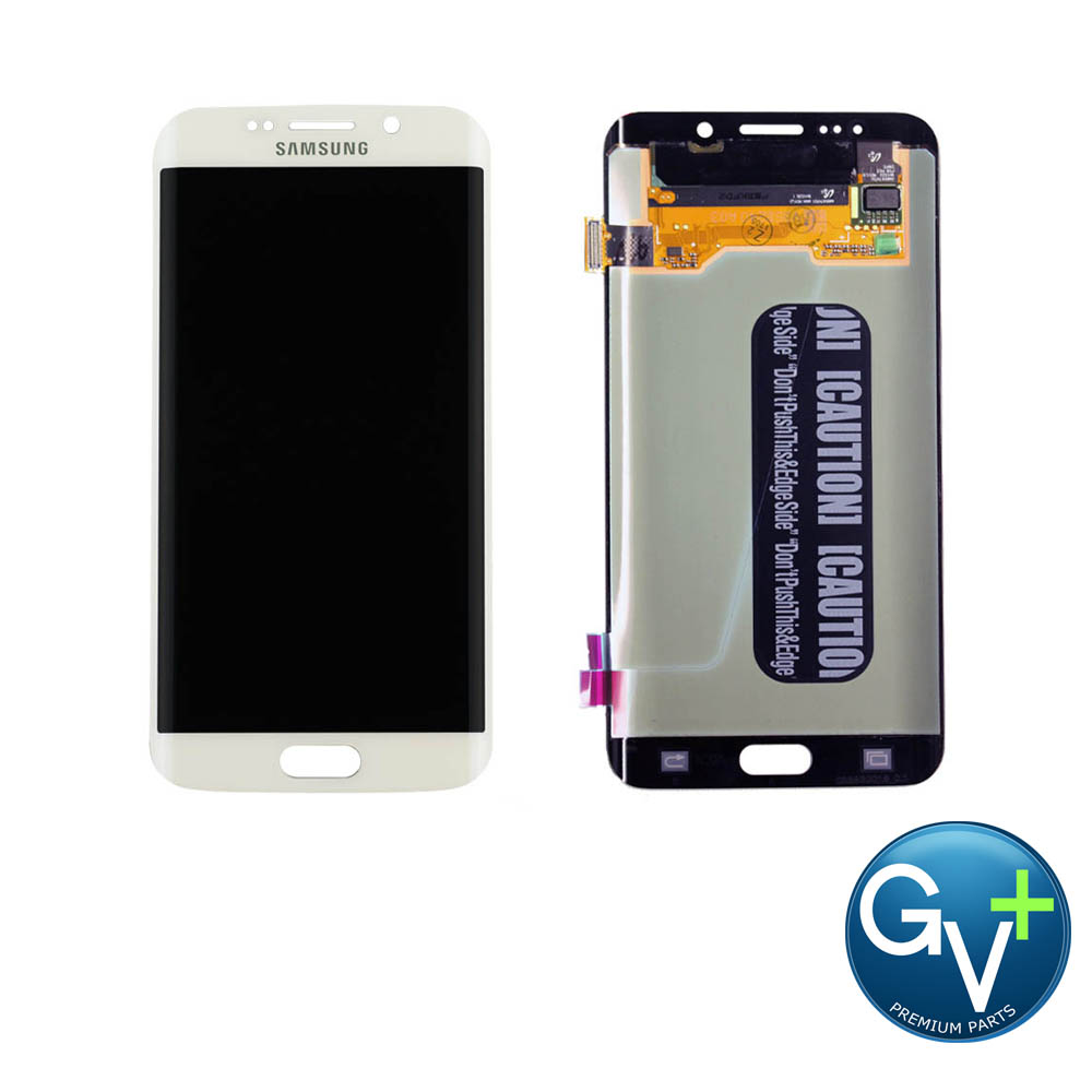 OEM Touch Screen Digitizer and AMOLED for Samsung Galaxy S6 Edge Plus - White Pearl (SM-G928)