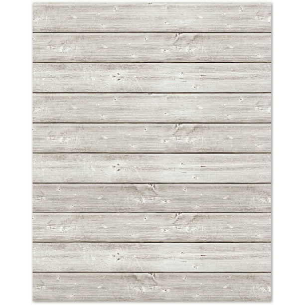 "Jillibean Soup Mix The Media Wooden Plank-16""X20"" White"