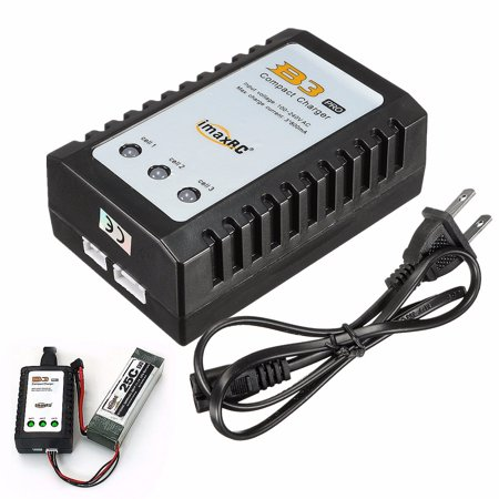 3s Lipo Balance Charger (iMaxRC iMax B3 Pro 2S 3S Lipo Battery Balance Compact Charger For RC Helicopter )