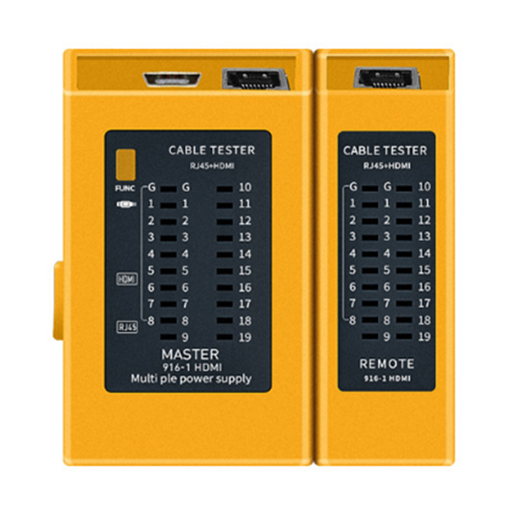 Network Cable Tester Wire Line Finder Multi-function Industrial Control Elements Wire Finder