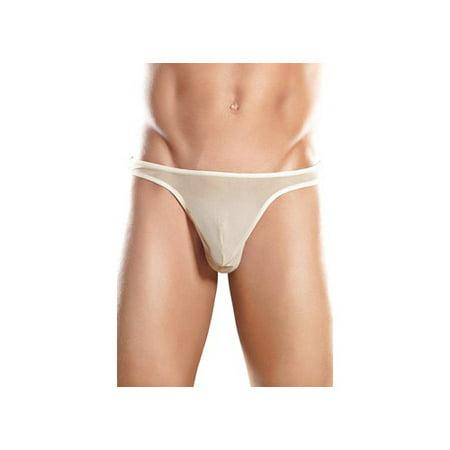 Men's Nude Slinky Mesh Bong Thong Nude (Retro Nude Male)