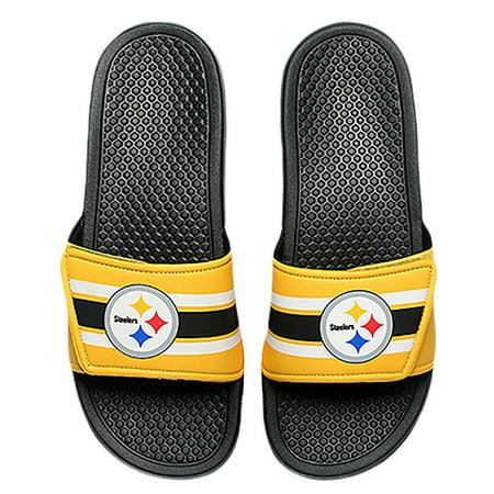 ca0cf3134c36b FC - Pittsburgh Steelers Men's Legacy Shower Sport Slide Flip Flop ...