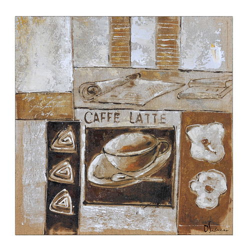 Ren-Wil Caffe by Olivia Salazar Painting Print