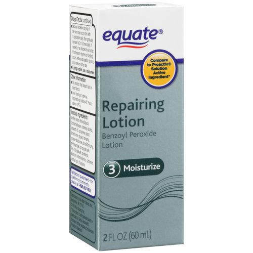Equate 3 Moisturize Repairing Lotion, 2 oz
