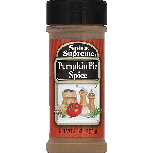 Spice Supreme Pumpkin Pie Spice, 2.5 oz, (Pack of 12)