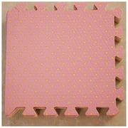 9Pcs Dot pattern EVA Foam Mat Toddlers Soft Crawling Mat Chi Playse Pad Protective Padding Mat