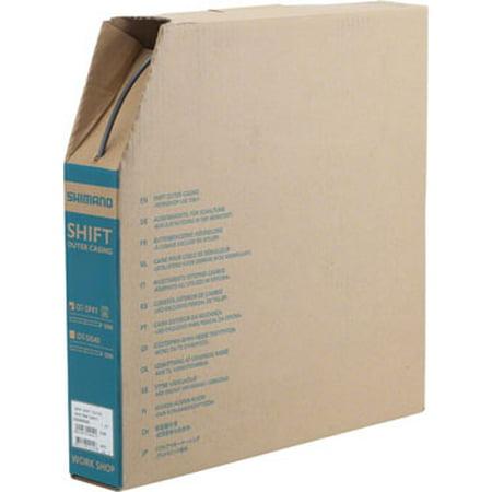 Shimano SP41 Derailleur Housing Box 4mm x 50m High-Tech Gray Shimano Sp41 Derailleur Housing
