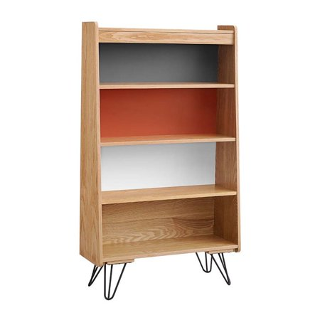 Linon Perry 4 Shelf Bookcase in Natural - image 1 of 1