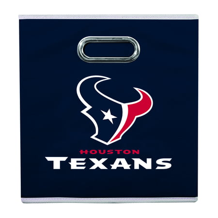 Franklin Sports NFL Houston Texans Collapsible Storage Bin ()