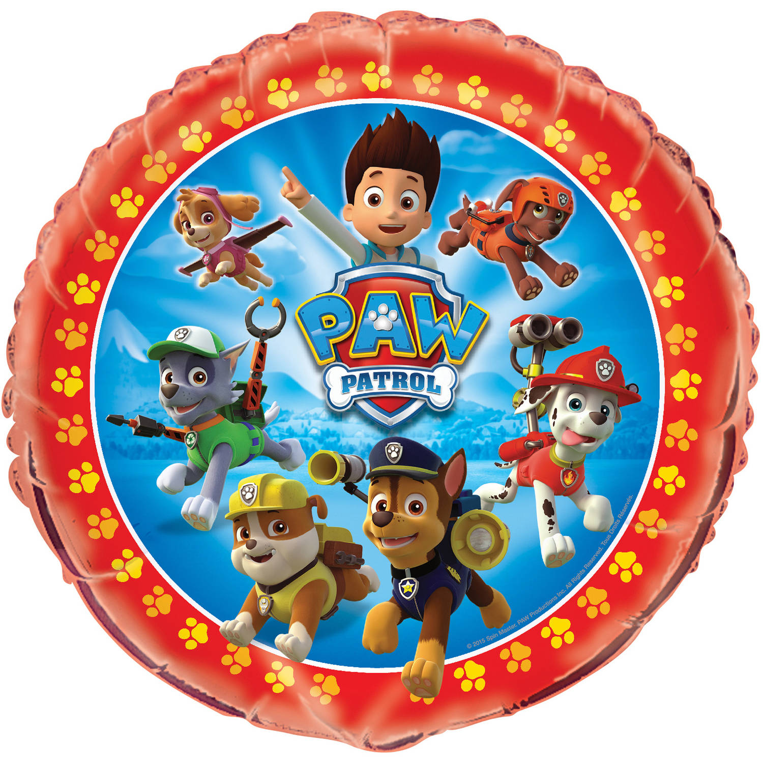 PAW Patrol Balloons Decorations