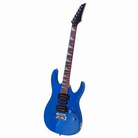Clearance! 170 Burning Fire Style Professional Electric Guitar with HSH Acoustic Pick-up
