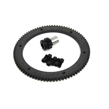 84 Tooth Clutch Drum Ring Gear Kit Chain Drive,for Harley Davidson,by - Large Drum Drive Gear