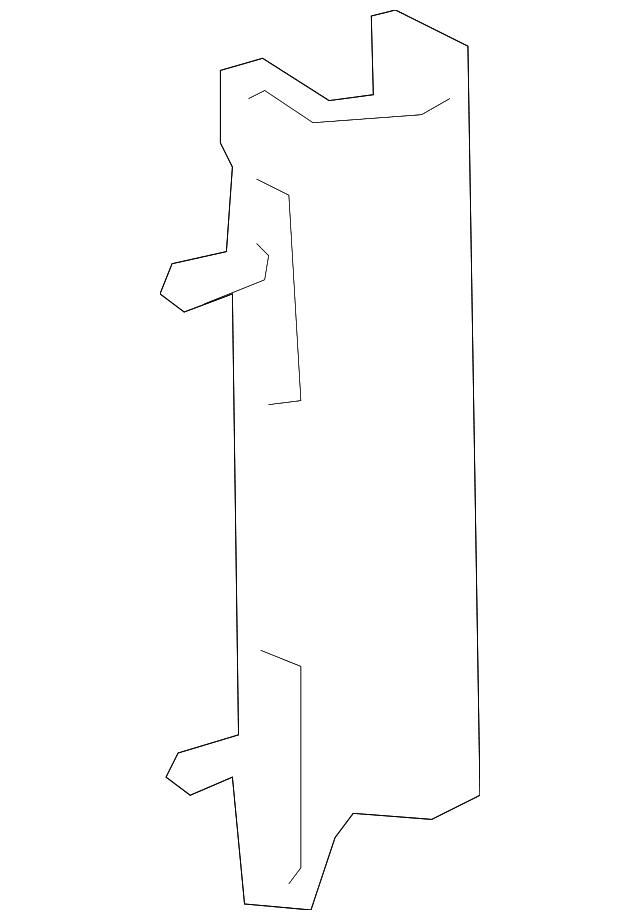 Genuine Toyota Deflector Panel 53164-52020