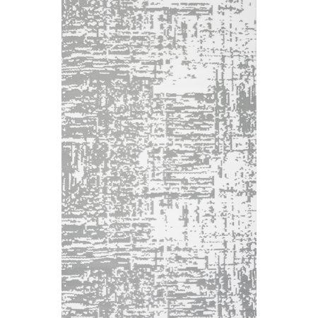 4' x 6' Gray Vintage Indoor Outdoor Reversible Rug - image 3 of 3