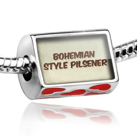 - Bead Bohemian Style Pilsener Beer, Vintage style Charm Fits All European Bracelets