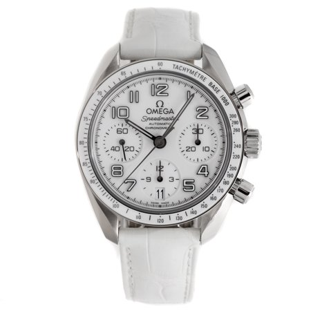 Pre-Owned Omega Speedmaster 324.33.38.40.04.001 38 mm Stainless sSteel White Automatic 1 Year Warranty