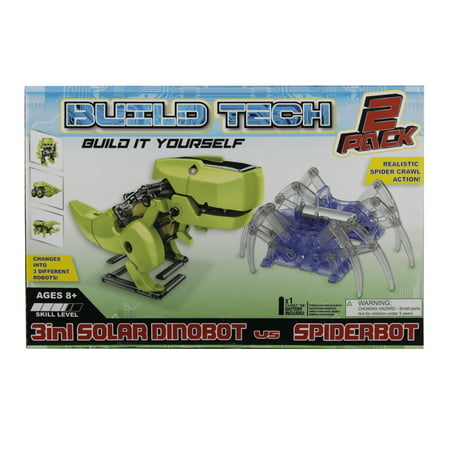 2 in 1 Ubuild Dinobot & Spider Bot