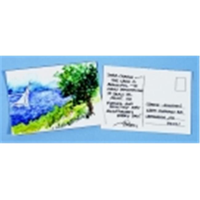 Strathmore Acid-Free Cold Press Watercolor Postcard - 4 x 6 in. - Pack 15