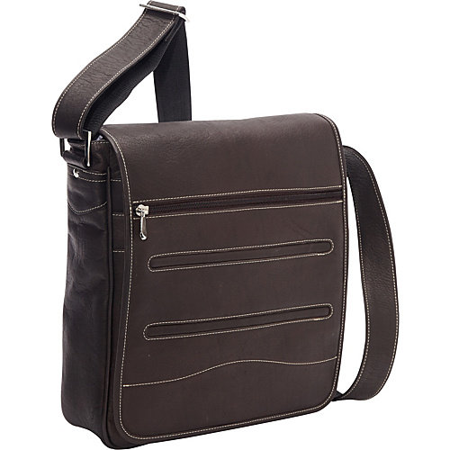 David King & Co. Deluxe Large Vertical Messenger