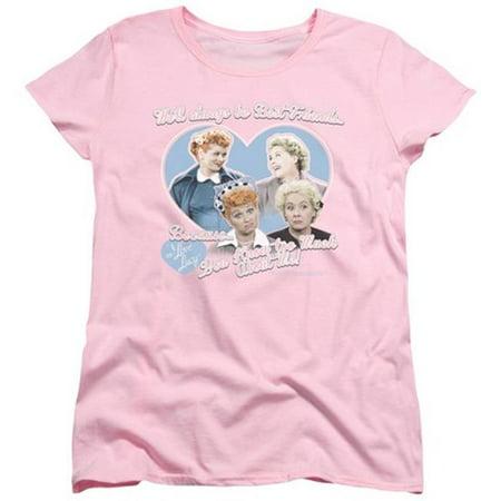 I Love Lucy 50's TV Series Always Best Friends Women's T-Shirt